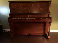 Free beautiful upright Weber piano