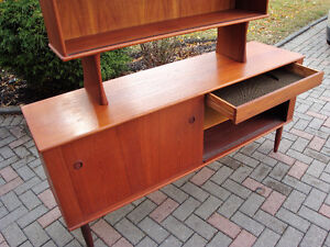 mId century modern buffet and hutch, Teak buffet and hutch London Ontario image 6