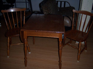 Roxton drop leaf table for 2 People
