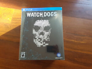 Watchdogs PS4 Limited Collector's Edition LE NEW unopened NIB