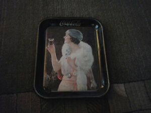 Collection of 4 Coca-Cola Trays