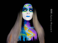 bodypainting and photography sessions available