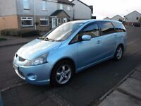 MITSUBISHI GRANDIS EQUIPPE AUTOMATIC 7 SEATER 2005 WITH TAX &MOT TO APRIL 2017 (NO ADVISORIES)