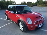 Mini Cooper s 1.6 2003 plate with 12 months mot