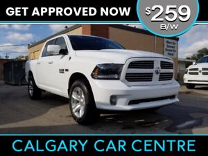 2015 Ram 1500 $259B/W TEXT US FOR EASY FINANCING! 587-582-2859