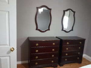 2 Chester drawers & mirror set or separate set