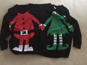 Ugly Christmas Sweater for 2 people!