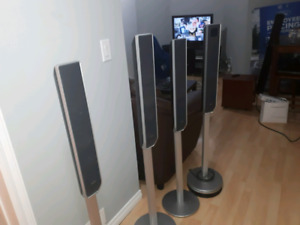 4 Sony Surround speakers and subs