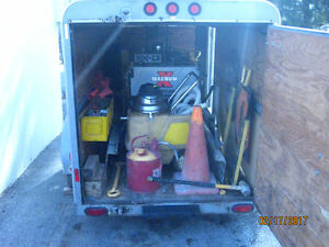 MAGNUM X Pavement Saw, Trailer & Accessories