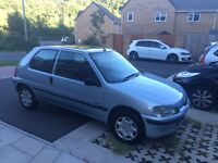 Peugeot 106 1.5 diesel full service history 14 stamps