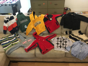 Boys clothing size 3 - hoodies, sweaters, coats