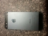 16GB SPACE GREY APPLE iPHONE 5 (BELL MOBILITY/VIRGIN MOBILE)