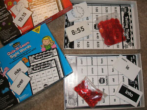 Quiz N Learn BINGO games (math/language) London Ontario image 2
