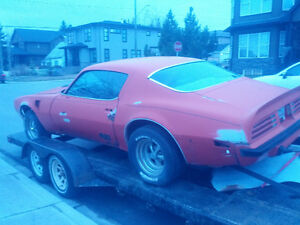 1974 TRANS AM  455 AUTO RESTORATION PROJECT
