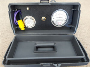 Scuba Diving Regulator Test Tool Kit - Maintenance Gauges