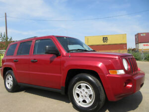 2007 JEEP PATRIOT NORT EDITION-4X4-HEATED SEAT-CLEAN CARPROOF