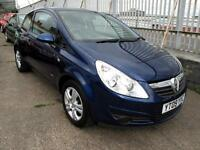 2009 09 Vauxhall Corsa 1.0i 12v Active 3 Door Only 30,751miles 1FK 5 Stamps