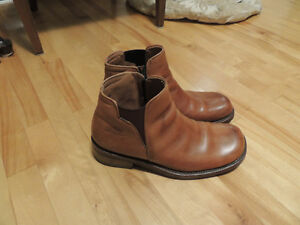 Leather Bike Boots- Very Lightly Used