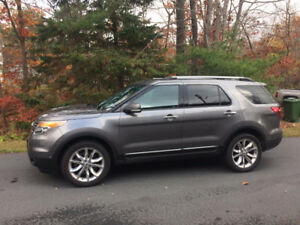2014 Ford Explorer Limited SUV, Crossover