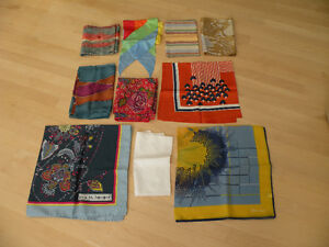 Various Scarfs with a Book