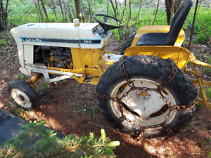 International Cub Lo Boy 154 Tractor and Snowblower