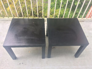 Set of 2 Ikea Side Tables