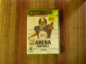 x box arena football exclusive afl license (neuf-sceller)