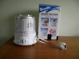 Breville Scoop Factory ice cream and sorbet maker