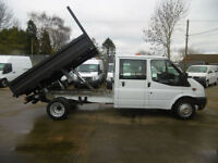 61 Ford Transit 350 Lwb..23,000 Miles Double Crew Cab Steel Body Dropside Tipper