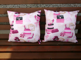 Pink Cushions x2