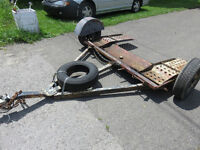 Car/Truck Tow Dolly with Tire Straps