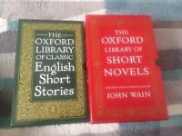 The Oxford Library Of Classic English Short Stories and short novels