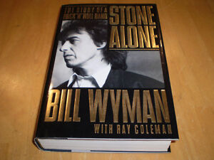 STONE ALONE BOOK BY BILL WYMAN