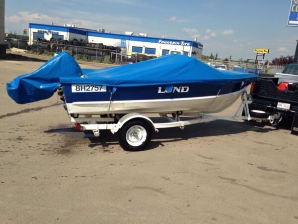 Used 1979 Lund Boat Co ski/fish