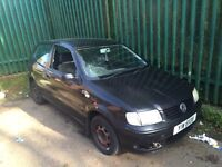 VOLKSWAGEN POLO SELLING COMPLETE CAR FOR PARTS