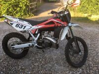 Husqvarna wr250 2stroke road legal 2009 10plate enduro