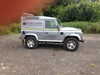 Land Rover defender 90 van