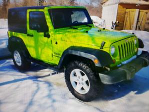 Jeep wrangler 2012 4x4
