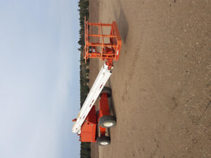 60' Snorkelift Boom Lift for sale