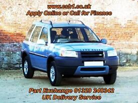 2000 X LAND ROVER FREELANDER 1.8 STATION WAGON 5D 118 BHP