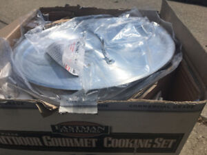 New camping Eastman outdoor 7 piece cooking set