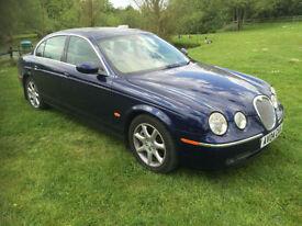 2004 Jaguar S-TYPE SE 2.7D V6 Diesel Auto Blue Full Service History