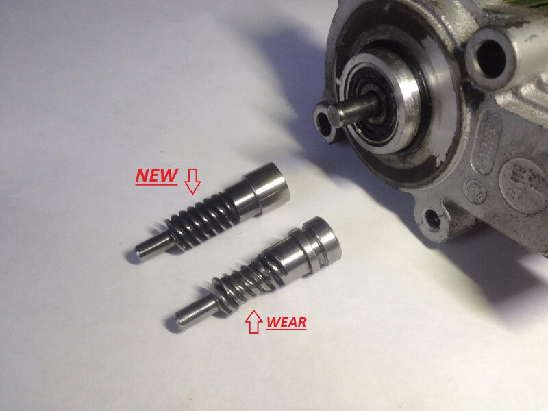 BMW Transfer case motor encoder worm gear replacement