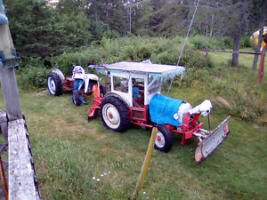 TRADE 2 FORD 8 N TRACTORS FOR 14-16 BOAT+TRAILER+9.9-4- STROKE