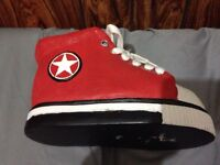 Converse wax shoes decor