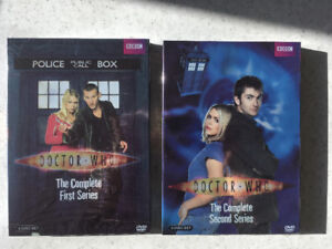 DOCTOR WHO COMPLETE SERIES 1 & 2 - BRAND NEW