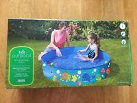 Kids 4ft paddling pool