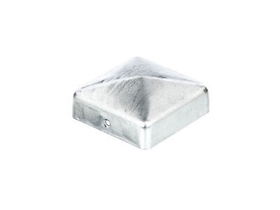 11 X Pfostenkappe Schwarz 71x71 mm Pyramide Abdeckkappe Pfosten Abdeckung 7x7 cm