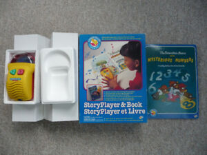 """""""Comes To Life"""" Story Player and Books"""