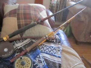 2  Fly  Rods   with  reels